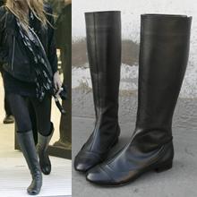 기획77416 올슨st 뒷지퍼 플랫부츠 발이 작아보여요 라이더와는 다른 여성스러운 플랫부츠